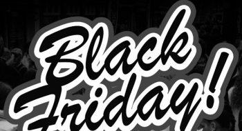 Black Friday met hoge kortingen!