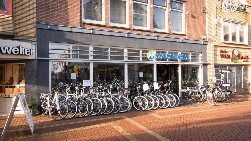 Halfords Den Helder in de Keizerstraat is uw specialist!