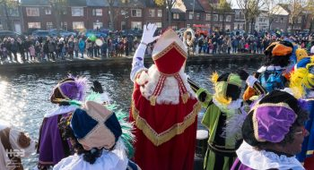 De intocht van Sinterklaas in Den Helder