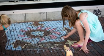 Foto's van 3D Street-art festival staan online