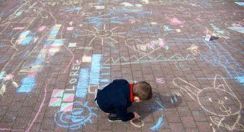 3D street-art festival voor kinderen in de mooiste binnenstad