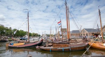 Dutch woodenboat festival in Den Helder