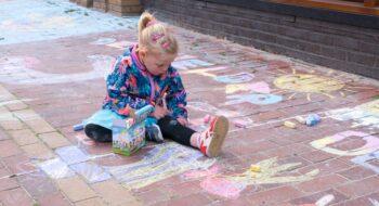 3D Street-Art festival voor kinderen tijdens koopzondag (update)