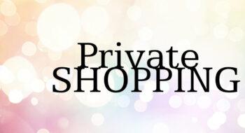 Private shoppen? Maak eerst een afspraak bij jouw favoriete winkel(s)